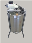 2 frame electric tangential honey extractor
