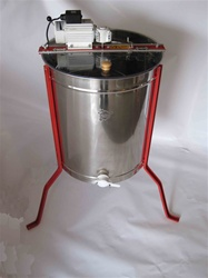 4 frame electric radial honey extractor