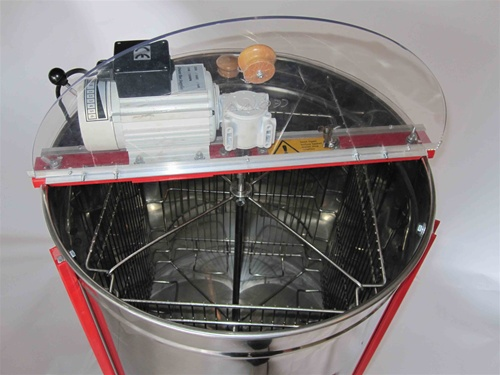 4 Frame Electric Radial Honey Extractor W   Stand Stainless